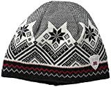 Dale of Norway - Gorra Impermeable Glittertind, Color Negro/Blanco Roto/carbn...