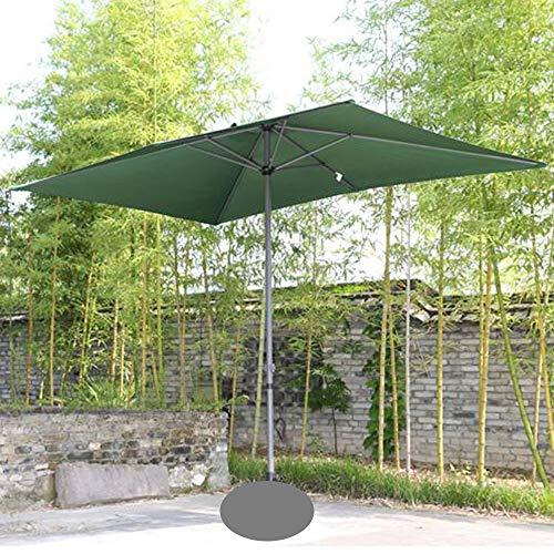 Parasol Rechteckiger Sonnenschirm 200 x 300 cm | Outdoor Sonnenschirm Regenschirm | Pole breite Ø 38 mm | Kurbelsystem CMXZ