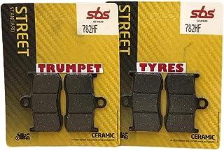 Triumph Tiger Sport 1050 15 16 17 18 19 SBS Performance Bremsbeläge vorne Keramik Original OE Qualität 782HF