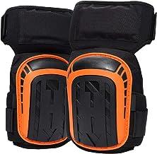 Professionele kniebeschermers, kniebeschermers voor werk met zwaar gelkussen en verstelbare antislipband Perfect voor bouw...