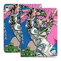 ジョジョの奇妙な冒険 タブレットケース IPADケース ペン収納 タブレット保護カバー レザーケース 2つ折 スタンド 薄型 可愛い アニメ グッズ ipad air4