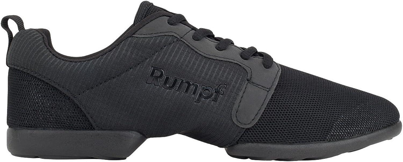 Rumpf Mojo Dance Sneaker Black Men Women Lightweight Breathable mesh