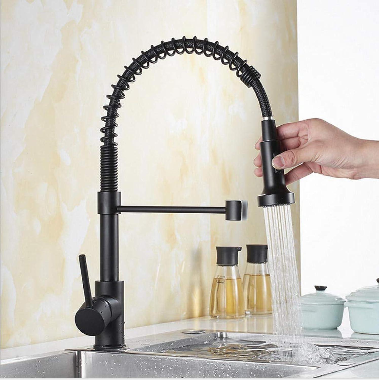 Schwarz nickel herausziehen frühling küchenarmatur einhebelmischer 360 umdrehung hei kalt mischer küchenarmatur mischer