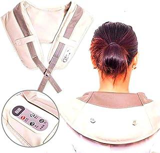 comprar comparacion Almohadilla eléctrica Masaje de Cervical/Espalda/Hombros Masajeador Eléctrico con Calor Rotación Función de Calor para Rel...