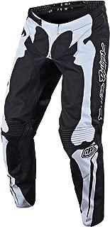 Troy Lee Designs GP Skully Men's Off-Road Motorcycle Pants - Black/White / 32