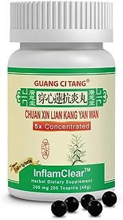 Guang Ci Tang - Chuan Xin Lian Kang Yan Wan (InflamClear™) - 12 Bottle Pack