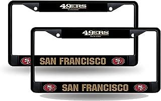 SAN FRANCISCO 49er/'s Logo 2 Car Tag Diamond Etched on Aluminum License Plate