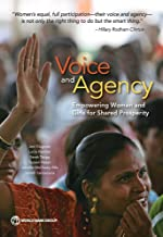 Voice and Agency: Empowering Women and Girls for Shared Prosperity