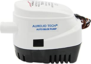 AURELIO TECH 12V Automatic Submersible Boat Bilge Water Pump 750GPH Auto with Float Switch