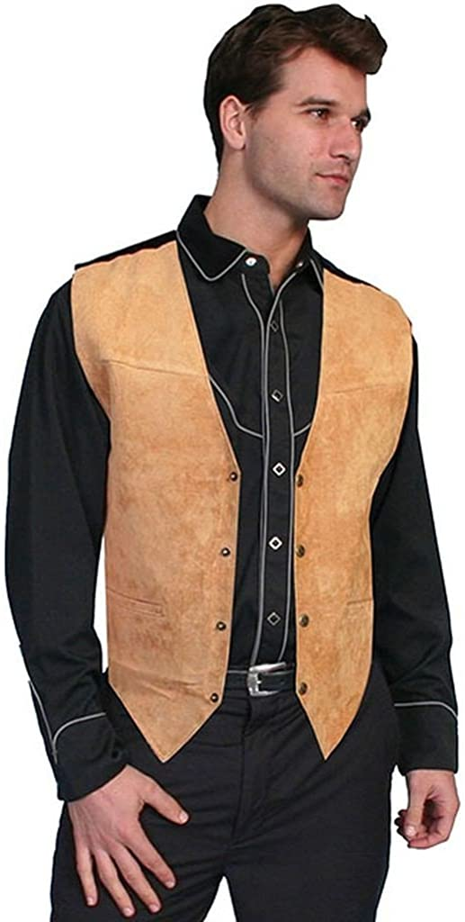 Scully mens Suede Western Product Max 87% OFF Leather