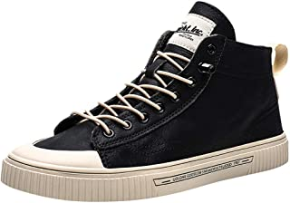 Shoes Boots Sneaker for Walking Hiking Vintage in British Style Lightweight School Enjoy Up to 80% Discount, Tooling Sneaker Boots for Mens, FULLSUNNY