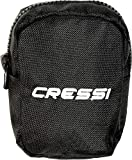 Cressi Back Weight Pockets - Buceo peso bolsills, Negro