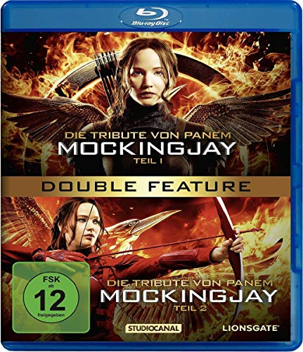 Die Tribute von Panem - Mockingjay Teil 1+2 Double Feature [Blu-ray]
