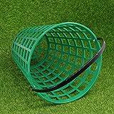 NXX Canasta De La Pelota De Golf El Contenedor De La Pelota De Golf con El Soporte De La Pelota con Manija Contienen Los Accesorios del Estadio (Verde Hay Muchos Tamaños para Elegir),25 Balls
