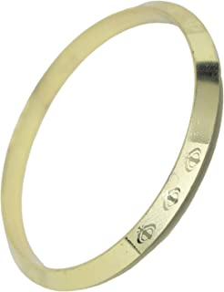 Confidence Gold Plated Sikh Kara for Men and Women Confidence