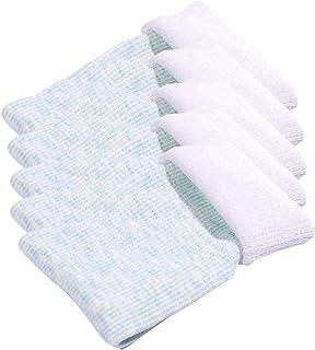 Calcetines Térmicas Gruesos Cálidos De Algodón Con Borrequito Por Dentro Para Mujer Color Liso Invierno Para Esquiar Estar En Casa Calentar Los Pies Pack de 5 Pares