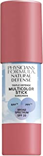 Physicians Formula Natural Defense Triple Defense Multicolor Stick with SPF 20, True Mauve