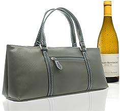 Sachi Insulated Wine Purse Cooler Bottle BYO Handbag Picnic