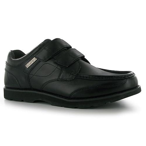 28e2930a351 Kangol Kids Harrow Vel Junior Shoes Hook And Loop Tape Casual Footwear
