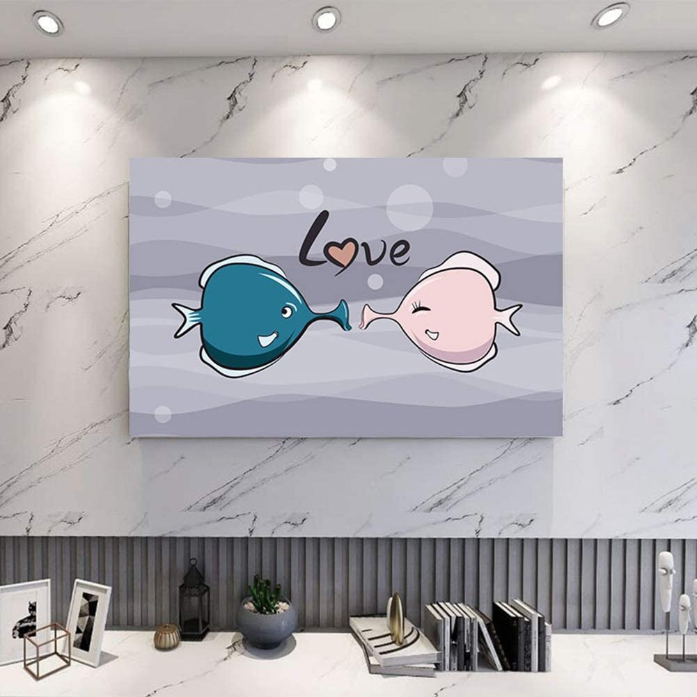 catch-L Home Regular store Decoration Lotus LCD TV Hom Fabric Thick Dust Brand Cheap Sale Venue Cover