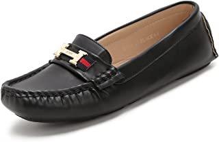 Hawkwell Women's Slip On Driving Style Loafers Walking Flat