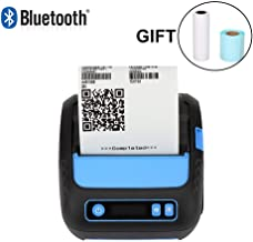 MUNBYN 3 Inches Thermal Label Printer, 80mm Receipt Label Sticker Wireless Bluetooth Shipment Printer, Mobile Printer Supported ESC/POS/TSPL/CPCL Command