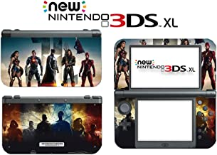 Justice League Batman Wonder Woman Superman Video Game Vinyl Decal Skin Sticker Cover for the New Nintendo 3DS XL LL 2015 System Console