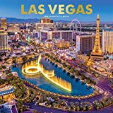Las Vegas 2020 12 x 12 Inch Monthly Square Wall Calendar with Foil Stamped Cover, USA United States of America Nevada Rocky Mountain City