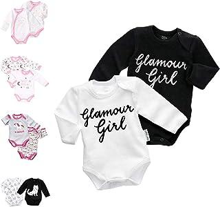 Baby Sweets Unisex 2er Body Baby Set Langarmbodys aus Baumwolle als Baby-Erstausstattung für Mädchen & Jungen/Babybody für Neugeborene & Kleinkinder/Babykleidung verschiedener Größen 0-18 Monate