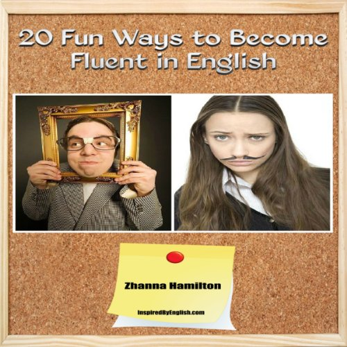 20 Fun Ways to Learn English audiobook cover art