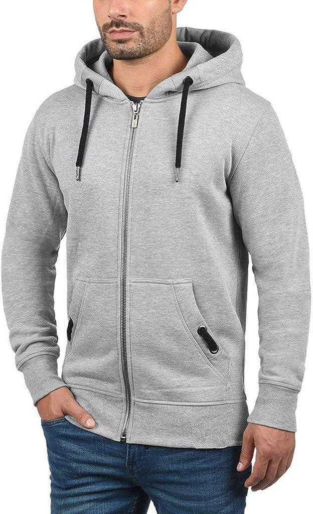 MODOQO Men's Zipper Hoodies Sweatshirt Long Sleeve Soft Warm Winter Outwear