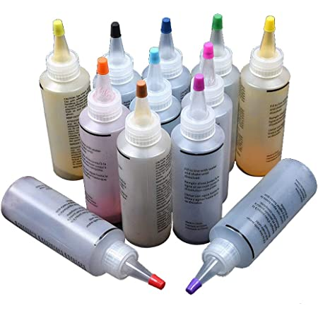 Anpro 160 PCS Tie Dye Kit,14 Colores Tintes Textiles ...