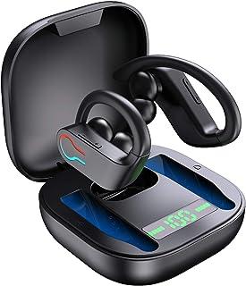 Cuffie Bluetooth 5.1 Bassi Potenziati, Auricolari Sport Senza Fili IP7 Impermeabili, In Ear Cuffie Auricolari Wireless Run...