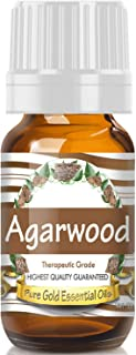Pure Gold Agarwood Essential Oil, 100% Natural & Undiluted, 10ml