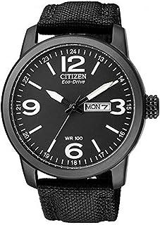 Citizen Men's Analog Eco-Drive Watch with Nylon Strap BM8475-34E