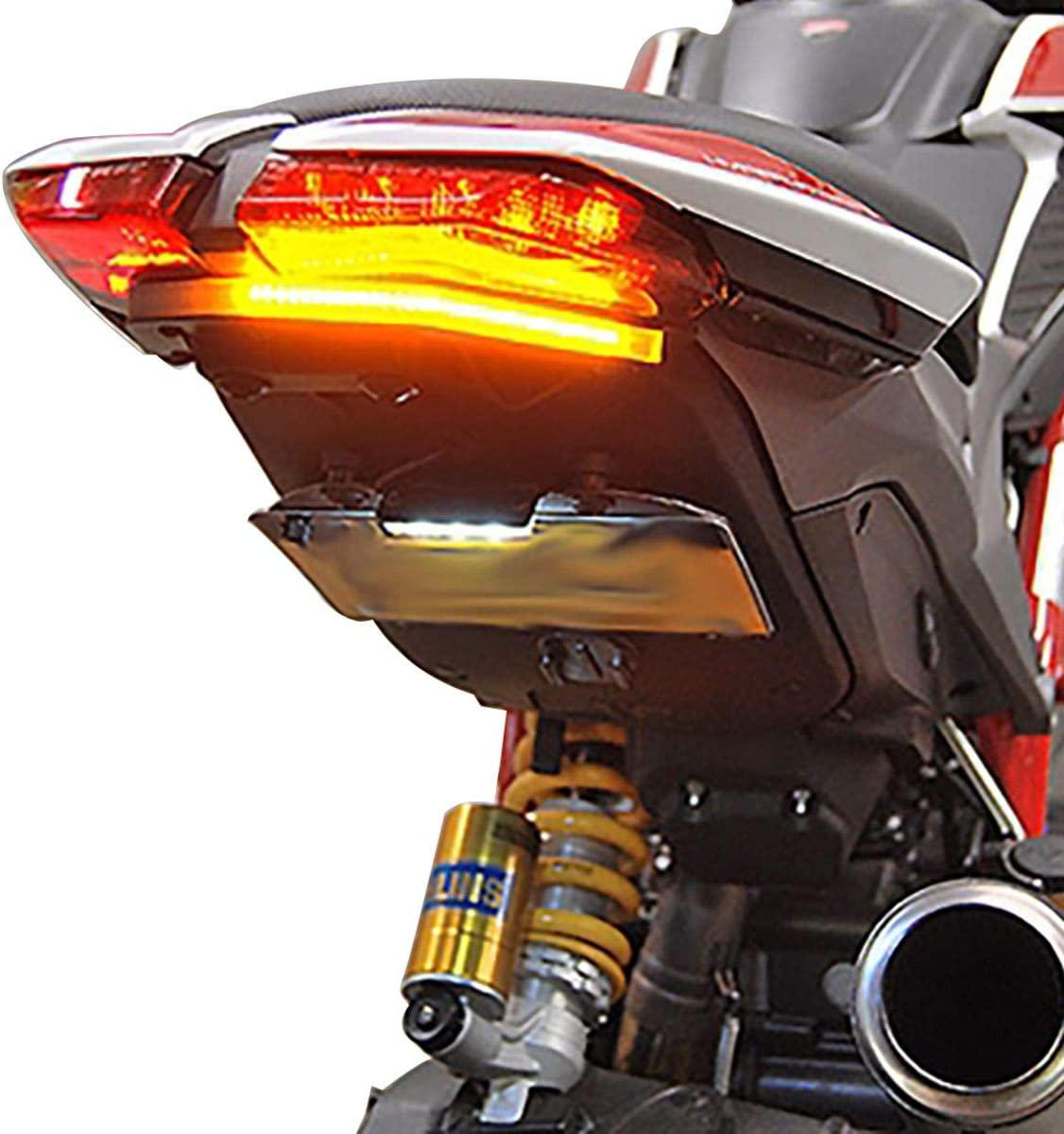 Ducati Hypermotard Fender Eliminator Kit OFFicial Rage New Cyc Fashion - Tucked