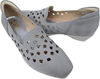 [フィズリーン] fizzreen 8600 レディース パンプス コンフォートシューズ スリッポン パンチング 通勤靴 仕事靴 日本製