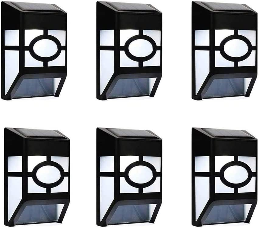 Lxcom Lighting 6 Pack Solar Outdo Lights New products world's highest quality popular Daily bargain sale Deck Fence