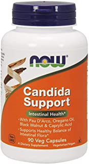 Now Foods Candida Support, 90 Capsules