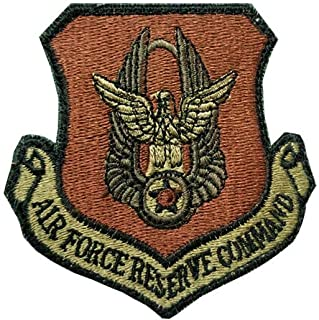 US Air Force Reserve Command OCP Spice Brown Patch with Hook Fastener