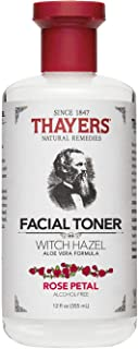 Thayer's Alcohol-free Rose Petal Witch Hazel with Aloe Vera ~ 12 oz