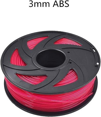lowest ABS 3D Printer 2021 Filament - 2.20 lb (1KG) The Diameter of 3.00 mm, discount Dimensional Accuracy ABS Multiple Color (Transparent Purple) online sale