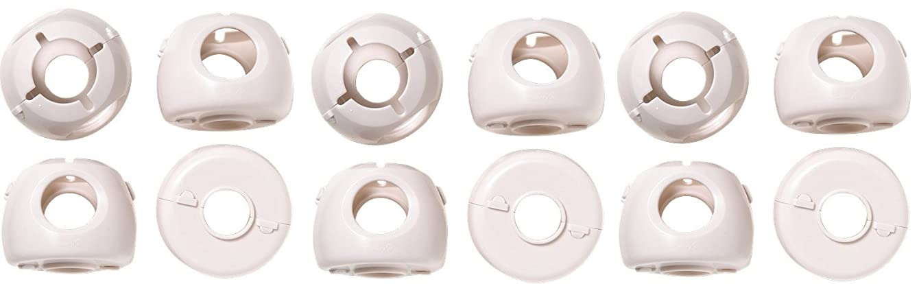 Safety 1st Grip 'n Twist Door Knob Covers 12 Pack