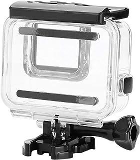 Topiky Vattentätt actionkamerafodral, robust och hållbart undervattensfodral för Gopro Hero 7 silver vit (beröringsbart fo...