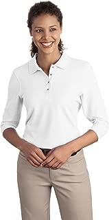 Women's Silk Touch 3/4 Sleeve Polo