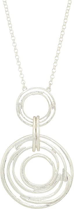 Orbit Pendant Necklace 28""