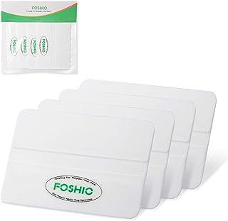 Foshio, pacote com 4, ferramentas de aplicação de vinil de carro profissionais de 10 cm, espátula econômica para colorir j...