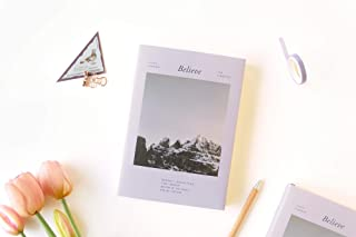 PAPERIAN Believe Study Planner (for 6 Months, Snow Mountain)