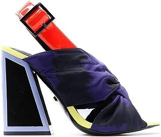 KAT MACONIE Women's KAILANITWILIGHTSUNNYLIME Multicolor Fabric Heels