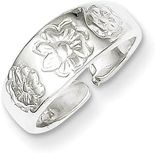 Lex & Lu Sterling Silver Toe Ring LAL22072